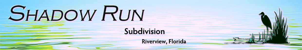 Shadow Run, Riverview, Florida